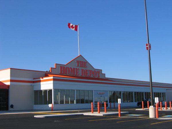Home Depot Kelsey Drive